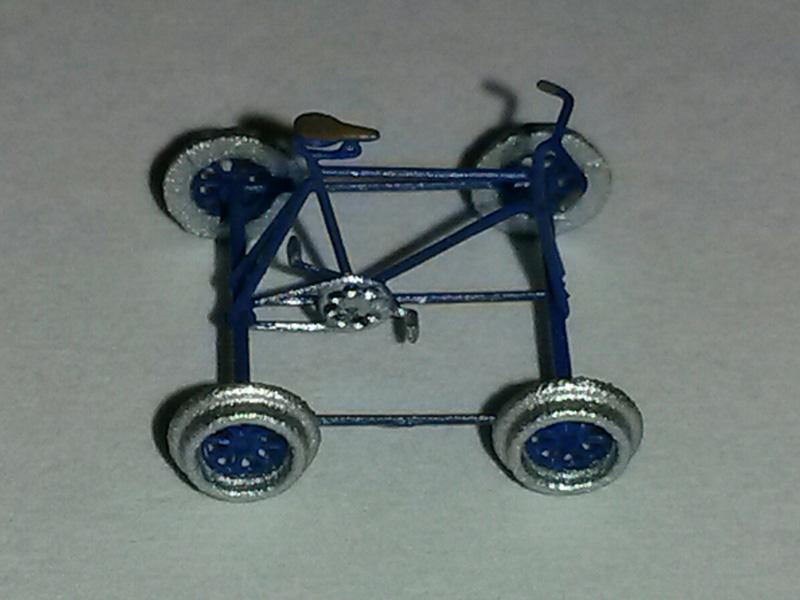 Track motor car - [11101-BL]