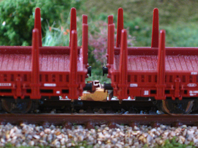 Coupling for Roco / Flat- and Boxcar - [13046]