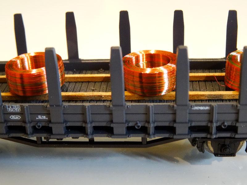 Copper wire coil - [13111]
