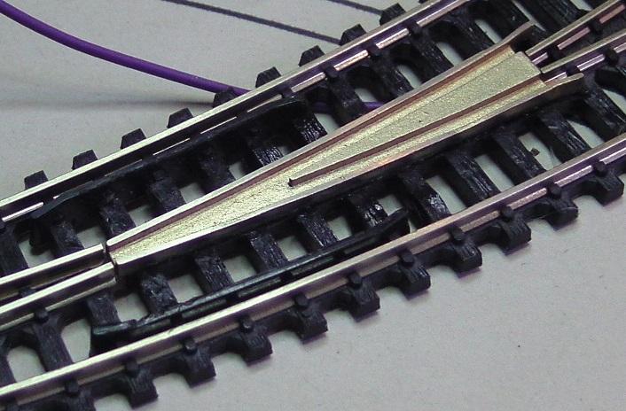Elektrofrog Trix curved - [13134-R]