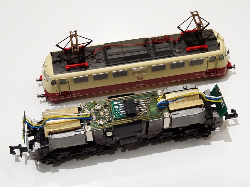 Payload for Fleischmann E-engines class - [13161]