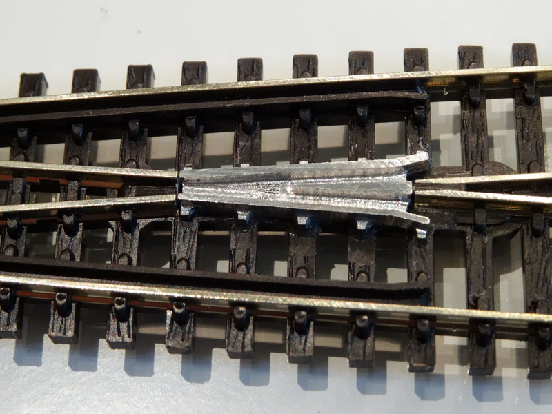 Elektrofrog Peco crossing code 80 8° - [13394]
