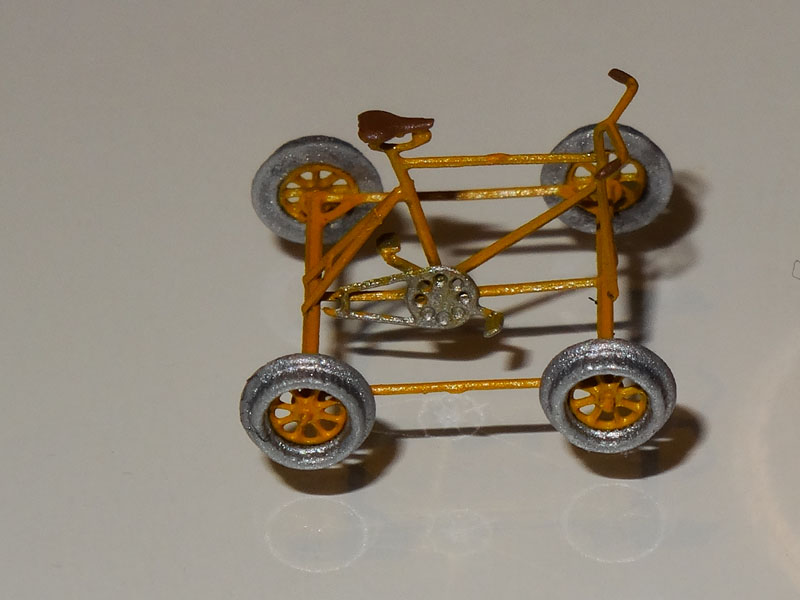 Track motor car - [11101-GE]