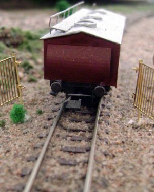 Factory gate small - [4026]