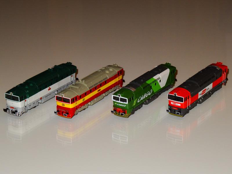 Diesel locomotive CSD T478.3 - [11010]