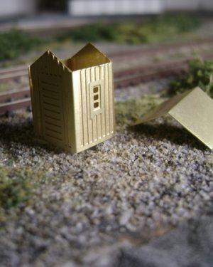 Railwaybuilding - [4073]