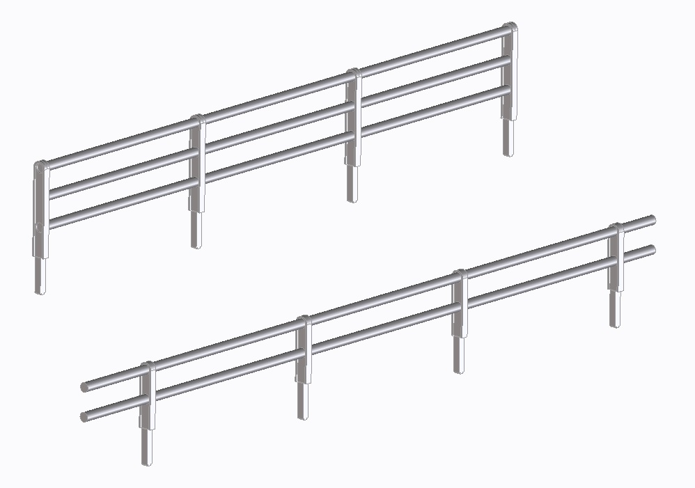 Pipe fence- [15020]
